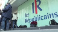 The French conservative party Les Republicains held a meeting Monday morning the day after their candidate Francois Fillon an early favourite to...