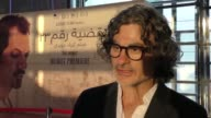 The French Lebanese director Ziad Doueiri attends the premiere of his new film The Insult in Beirut Lebanon