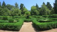 The Gardens of Maximilian on Lokrum Island, Adriatic Sea, Dalmatia Coast, Croatia.
