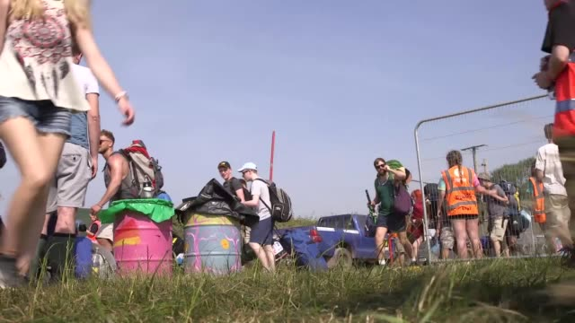 The gates to Glastonbury Festival have opened with the weather hotter and security tighter than usual Temperatures at the 900acre Somerset site had...