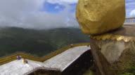 The Golden Rock or Kyaiktiyo Pagoda