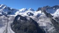 The Gorner Glacier, in the Matterhorn region.