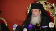 The Greek Orthodox Patriarch Theophilos III of Jerusalem called an Israeli court decision that permitted the sale of a church property to Israelis...