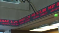 The Greek stock exchange reopens in Athens after a five week shutdown imposed by the country's debt crisis