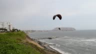 The Green Cliffs in Lima's popular Miraflores neighborhood are considered as one of the best places in the world for paragliding CLEAN Paragliding...