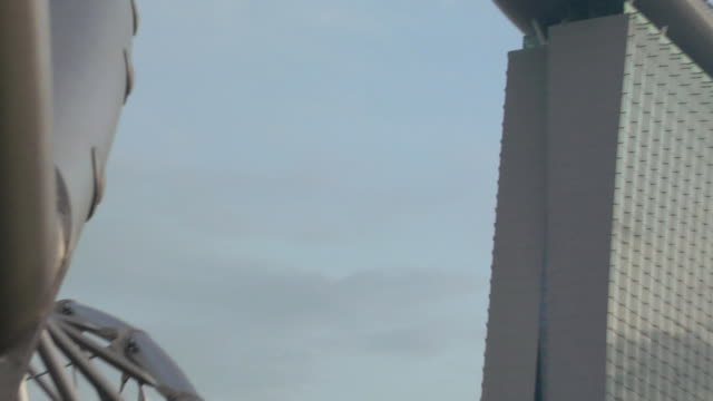 ZO The Helix Bridge leading to the Marina Bay Sands Casino / Singapore