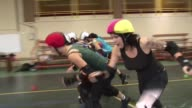 The highspeed punkinfused womenonly sport of roller derby is holding its first World Cup in Toronto Canada Angouleme Charente France