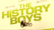 'The History Boys' Royal film premiere ENGLAND London Leicester Square Close ups of 'The History Boys' poster ZOOM IN / Close up of Prince's Trust...