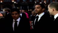 'The History Boys' Royal film premiere Sasha Dhawan Samuel Anderson Russell Tovey speaking to press SOT The film is very truthful to what Alan...