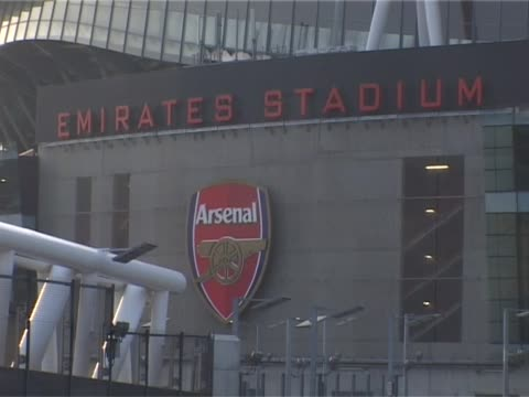 The home of Arsenal Football Club in North London Emirates Stadium External General Views on September 29 2011 in London