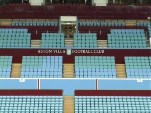 The home of Aston Villa Football Club Villa Park Pitch and Stands General Views on September 29 2011 in Birmingham