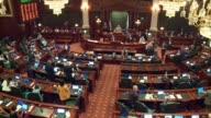 WGN The Illinois House voted 7142 to override Governor Bruce Rauner's veto of a budget plan after a hazmat situation forced a lockdown on July 6 2017...