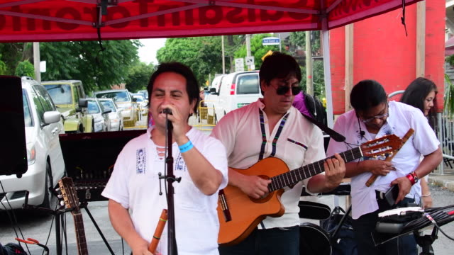 The Imbayakunas are a band with unique world music fusion that combines traditional Andean sounds with contemporary Latin rhythms