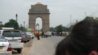 The India Gate And The Ceremonial Axis Of New Delhi