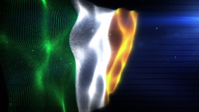 The Irish Flag - Background Loop (Full HD)
