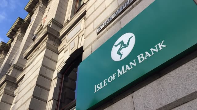 The Isle of Man Bank is pictured on November 8 2017 in Douglas Isle of Man The Isle of Man is a lowtax British Crown Dependency with a population of...