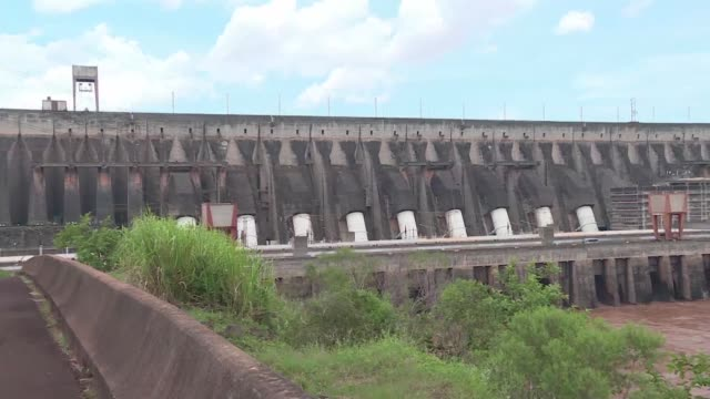 The Itaipu hydroelectric dam on the border between Paraguay and Brazil provides 80% of all the energy consumed in Paraguay now the worlds leading...