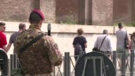 The Italian capital prepares for a highsecurity lockdown as 27 heads of state or government head to Rome for the European Union's 60th anniversary...
