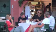 The Italian singer sigyted out and about in Portofino ahead of his performance there that night in the town square Andrea Bocelli Sighted in...