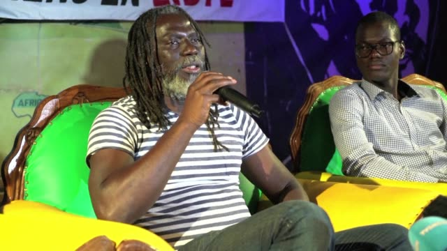The Ivorian artist Tiken Jah Fakoly denounces slavery in Libya and the inaction of African leaders