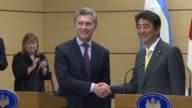 The Japanese Prime Minister Shinzo Abe met his Argentine counterpart Mauricio Macri who shared his memories of Tokyo when he was president of the...