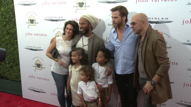 CHYRON The John Varvatos 12th Annual Stuart House Benefit With Honorary Chair Chris Pine Hosted By Chrysler on April 26 2015 in Los Angeles California