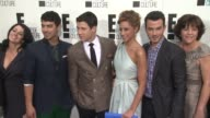 The Jonas Brothers at E Upfront 2012 at Gotham Hall on April 30 2012 in New York New York