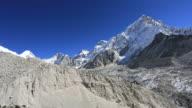 The Khumbu Glacier near Everest Base Camp, Sagarmatha National Park, Himalayan Mountains, Nepal