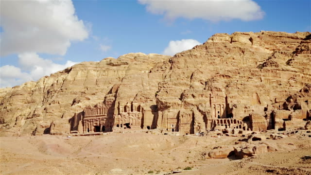 The Kings Wall, Tombs of Petra