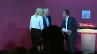 The Labour leader Jeremy Corbyn and the man who wants his job Owen Smith have gone headtohead at a hustings in Gateshead Neither candidate was short...