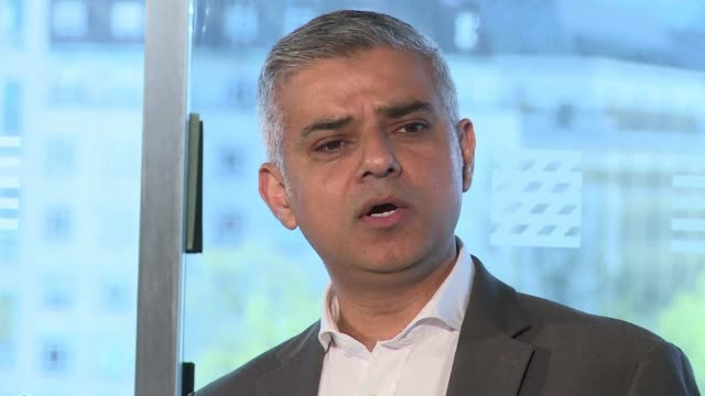 The Labour Party candidate in Londons mayoral elections Sadiq Khan makes his final speech ahead of Thursdays vote attacking Conservative party...