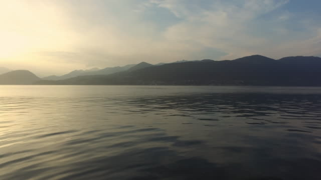 The Lake Maggiore, in Northern Italy.