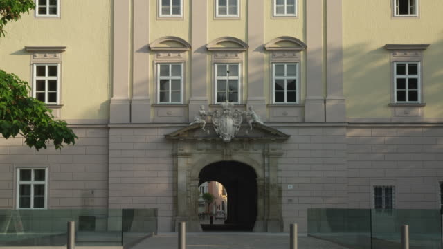 MS TU the Landhaus, the seat of the regional government of Upper Austria province