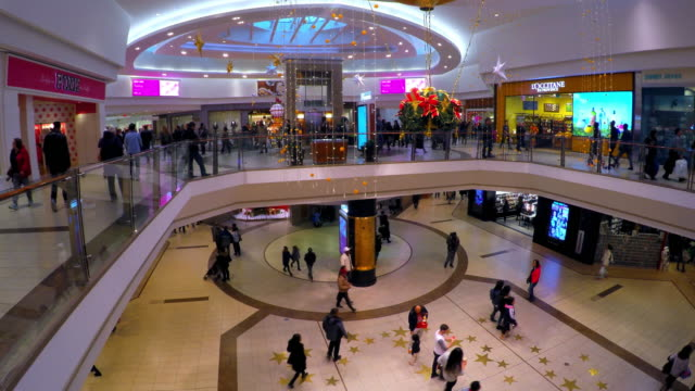 The landmark honors personalities in the urban area The shopping mall is one of the busiest in the Canadian city It has a beautiful modern design