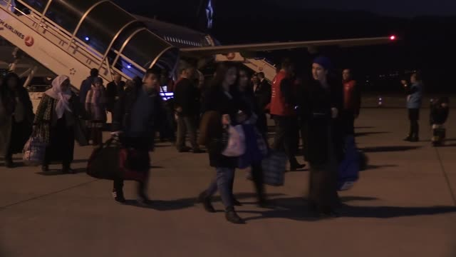The last group of Ahiska Turks who were forced to migrate from the Caucasus during the Soviet era returned to their homeland Thursday With President...