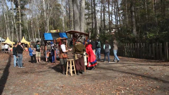 The last weekend of the Carolina Renaissance Festival is wrapping up as visitors enjoy the atmosphere food entertainment and games