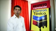 The lawyer representing the Ecuadorean indigenous communities who are suing US oil giant Chevron for billions of dollars in damages for pollution...