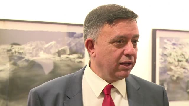 The leader of Israel's opposition Labour party Avi Gabbay expresses strong support for a two state solution with the Palestinians after his recent...