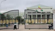 The leader of Myanmar's ruling party was ousted by the countrys president in a dramatic swoop Thursday as the army and its allies strengthened their...