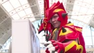 The London Super Comic Con opens its doors to sci fi and comic book fans with many attendees coming in elaborate cosplay costumes