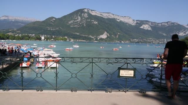 The Love Bridge - Pont des Amours with slider