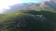 The Lush green mountainous planes of Javaher Dasht, Iran.