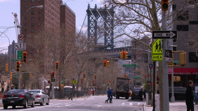 The Manhattan Bridge as Seen from Chinatown