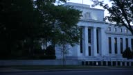 The Marriner S Eccles Federal Reserve building stands in Washington DC US on Friday Sept 11 2015 Shots Exterior shots of the building's façade Close...