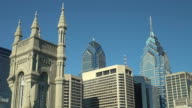 The Masonic Library & Museum and the Philadelphia Skyline