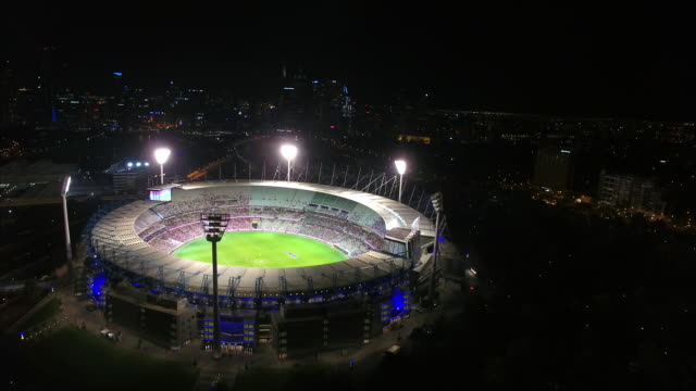 The MCG from above at night