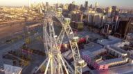 The Melbourne Star giant ferris wheel, Docklands Melbourne.