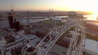 The Melbourne Star giant ferris wheel, Docklands Melbourne.