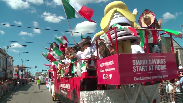 WGN The Mexican Independence Day parade in Chicago's Little Village on September 11 2016