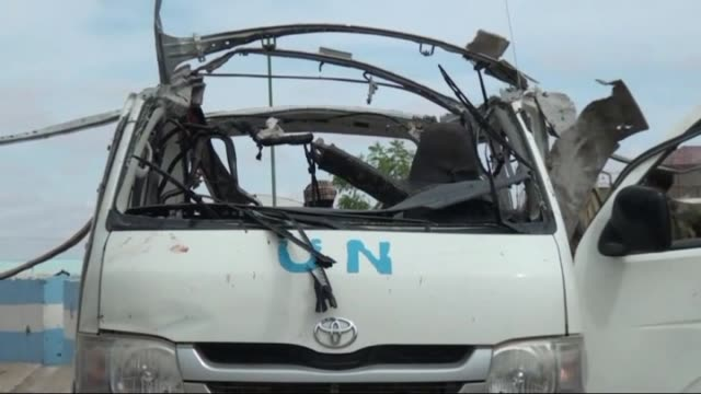The militant group alShabaab has bombed a minivan carrying staff to a United Nations office in the semiautonomous Puntland region of Somalia with...